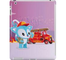 Poe Possum Fire Chief iPad Case/Skin