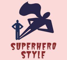 Superhero Style Baby Tee