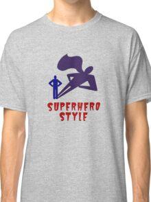 Superhero Style Classic T-Shirt
