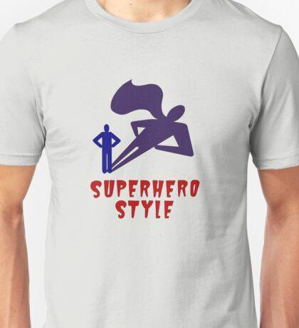 Superhero Style Unisex T-Shirt