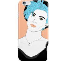 Blue Haired Wonder iPhone Case/Skin