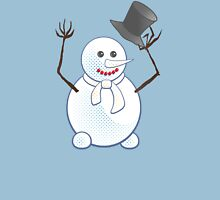 Snowman; New Year; Christmas Unisex T-Shirt