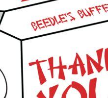 Beedle's Buffet Sticker