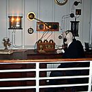 Recreation of the Marconi Room on the Titanic by Jane Neill-Hancock