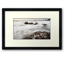 Point Montara Beach Framed Print