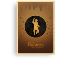 Steven Spielberg's RAIDERS OF THE LOST ARK Canvas Print