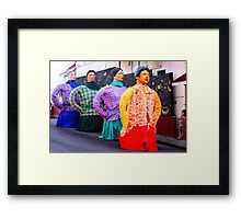 gigantic alignment Framed Print
