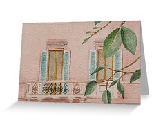 Milan Apartment, Italy Greeting Card