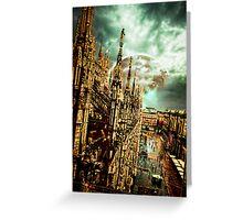 Apocalypse Milano 2 Greeting Card