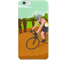 Cyclist Racing WPA iPhone Case/Skin