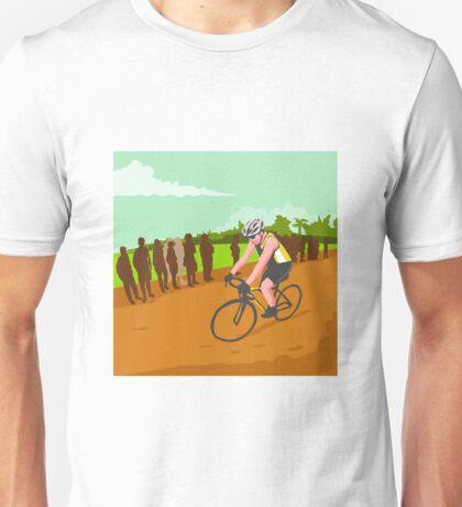 Cyclist Racing WPA Unisex T-Shirt