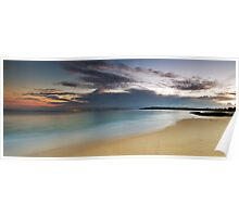 Jibbon Beach Panorama Poster