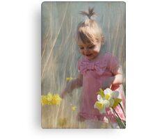 joy of spring Canvas Print