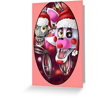 Christmas Mangle Greeting Card