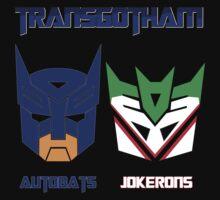 Batman and Transformers - TransGotham One Piece - Long Sleeve