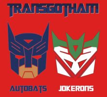 Batman and Transformers - TransGotham One Piece - Long Sleeve