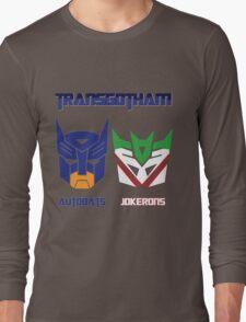 Batman and Transformers - TransGotham Long Sleeve T-Shirt