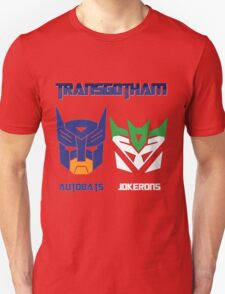 Batman and Transformers - TransGotham T-Shirt