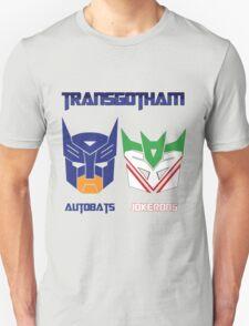 Batman and Transformers - TransGotham Unisex T-Shirt