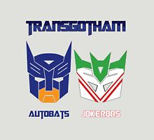 Batman and Transformers - TransGotham Unisex T-Shirt