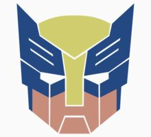 Wolverine Transformers Retro Style by micromegas