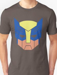 Wolverine Transformers Retro Style T-Shirt