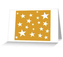 Star Spangled Gold Greeting Card