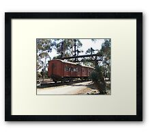 Carriage 880 Framed Print