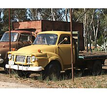 Vintage Trucks (7324) Photographic Print