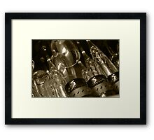 Crystal and Port Framed Print