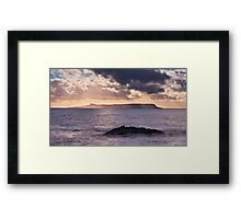 Light and Water Framed Print