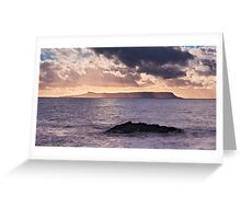 Light and Water Greeting Card