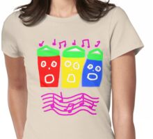 SINGING SEAHUTS TEE SHIRT/BABY GROW Womens Fitted T-Shirt
