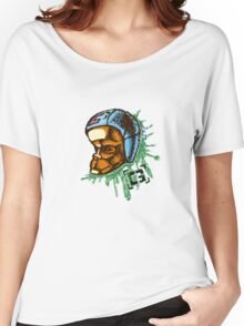 monkey on my back Women's Relaxed Fit T-Shirt