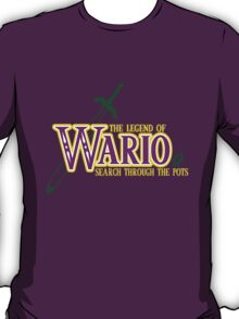 The Legend of Wario- Search Through The Pots T-Shirt