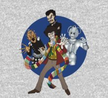 The Fourth Doctor One Piece - Long Sleeve