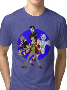The Fourth Doctor Tri-blend T-Shirt
