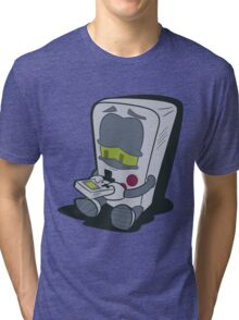 GameBoy Plays Gameboy... Tri-blend T-Shirt