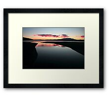 Glass - Ralphs Bay, Tasmania Framed Print