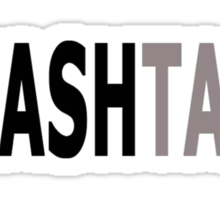 Twitter Hashtag (Black/Grey) Sticker