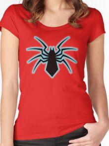 spider man spiderman  Women's Fitted Scoop T-Shirt