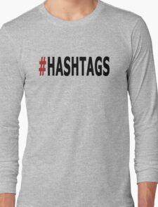 Twitter Hashtag Long Sleeve T-Shirt