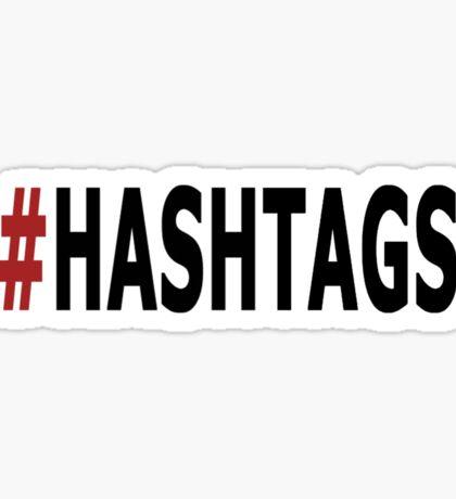 Twitter Hashtag Sticker