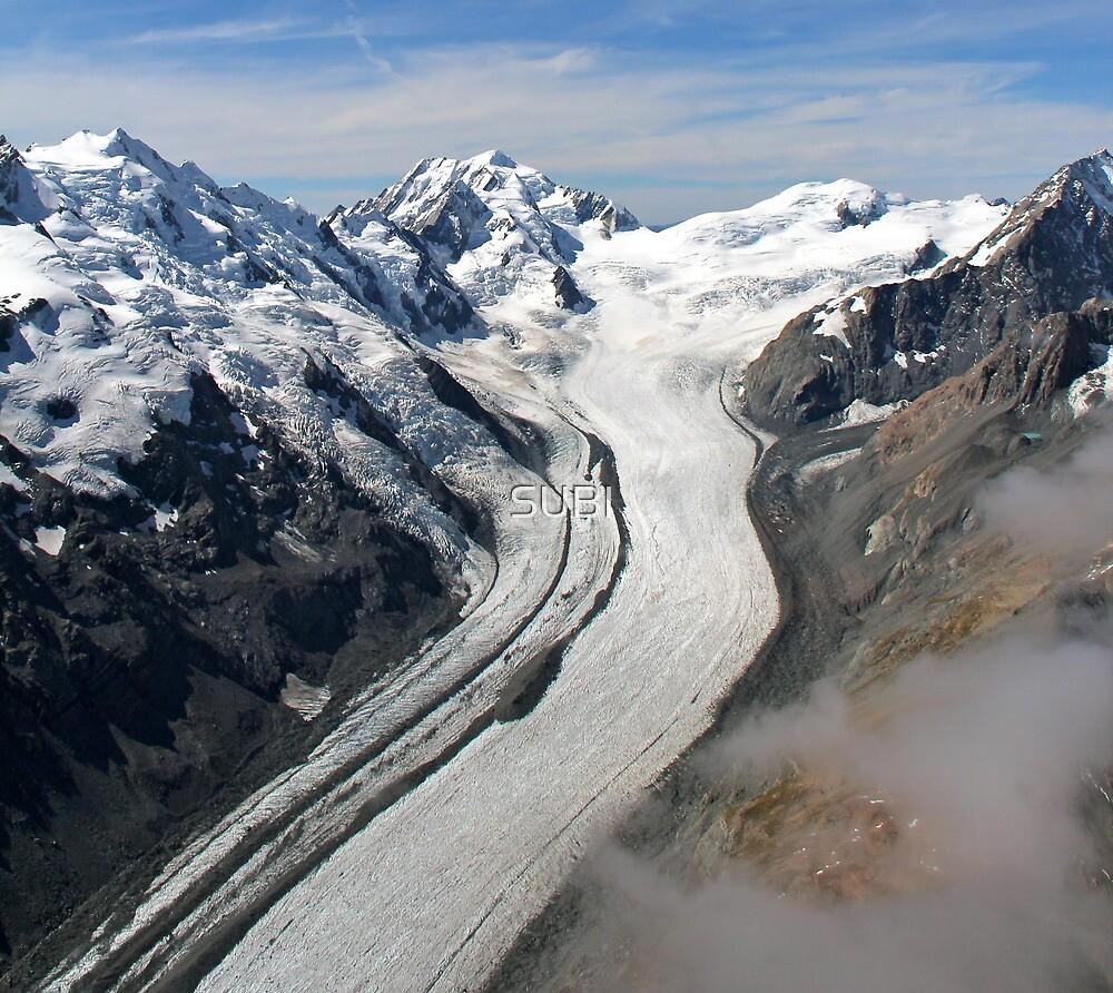 Tasman glacier by SUBI