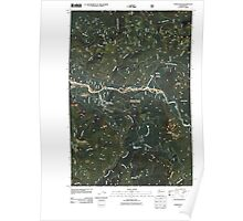 USGS Topo Map Washington State WA Tower Rock 20110506 TM Poster