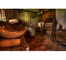 Laundry Days - Monte Christo Mansion, Junee NSW, The HDR Experience Photographic Print