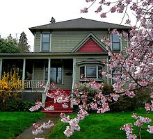 McCoy House 1901 by Charles & Patricia   Harkins ~ Picture Oregon
