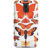 Orange Insect Collection Samsung Galaxy Case/Skin