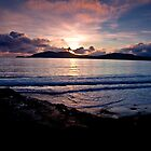 Sunset over Bolus - Co. Kerry by AlanJLanders