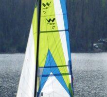 Sailboat  at Marsh Creek State Park Sticker